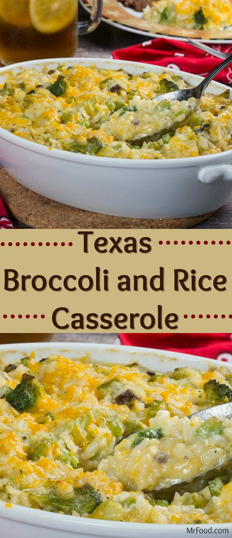 They say everything's bigger in Texas, which must be why this casserole is so big on taste! Our Texas Broccoli and Rice Casserole is creamy, cheesy, and oh-so-easy. It's perfect alongside anything from Texas brisket to your favorite chicken dinner!
