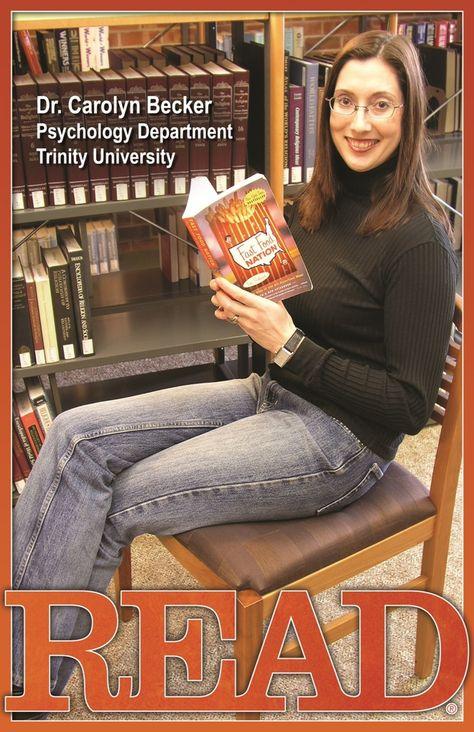 READ Poster, Professor Carolyn Becker, Psychology