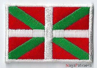 Ecusson brodé patche AS de COEUR NOIR thermocollant patch NagaPatches