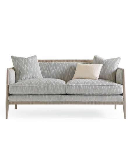 Caracole What S Not To Love Settee Couch In 2019 Small Sofa