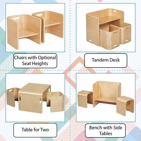 Cool Amazon Com Ecr4Kids Natural Bentwood Multipurpose Kids Beatyapartments Chair Design Images Beatyapartmentscom