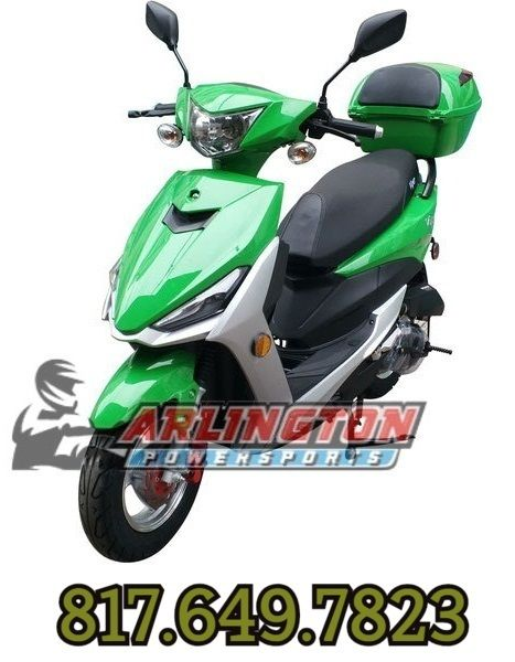Vitacci Viper 49cc Scooter 4 Stroke Single Cylinder Air Forced