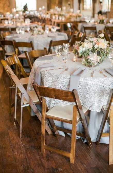 Pin On Wedding Tables Lace