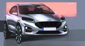 New Ford Kuga Reinvents Itself As A Stylish Suv With Three Electrified Options Ford Kuga Car Design Sketch Suv