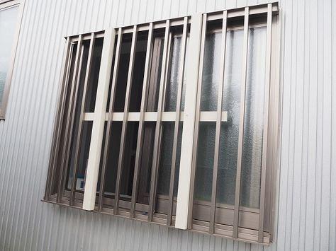 はな お風呂の窓の面格子を目隠しdiy 面格子 ヴィンテージ Diy 目隠し