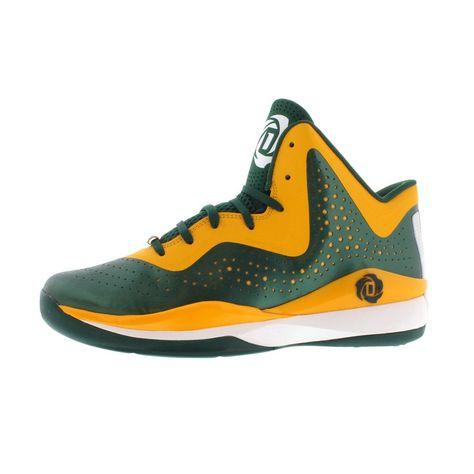9e3362ad69d3 adidas D Rose 773 III Basketball Shoes Green Orange Men s Size 11 M US NEW   adidas