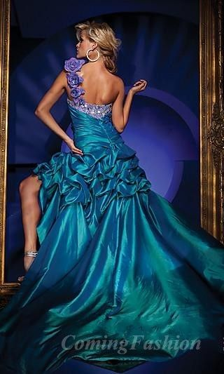 this is a prom dress, but it screams wedding to me!