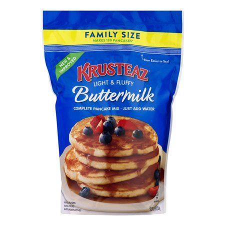 Krusteaz Light Fluffy Buttermilk Complete Pancake Mix 5 Lb Bag Walmart Com In 2020 Buttermilk Pancake Mix Pancakes Mix Buttermilk Pancakes