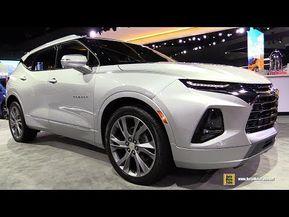 2019 Chevrolet Blazer Exterior And Interior Walkaround Debut