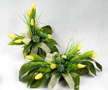 Kompozycje Kwiatowe Wyposazenie Domu I Ogrodu Allegro Pl Strona 4 Funeral Flowers Flower Arrangements Altar Arrangement