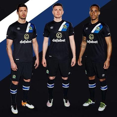 6895c38bb11 Umbro Blackburn Rovers 16-17 Home and Away Kits Released - Footy Headlines