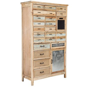 Natural Rustic Cabinet With Drawers Hobby Lobby Furniture