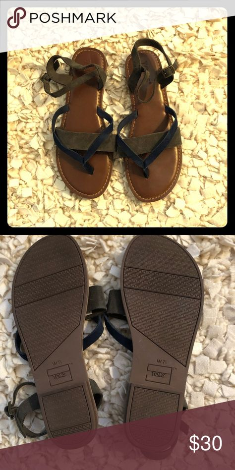 7b5ecd583d4 TOMS Lexie Sandals A cushy footbed brings comfort to a chic summer sandal  accented with a