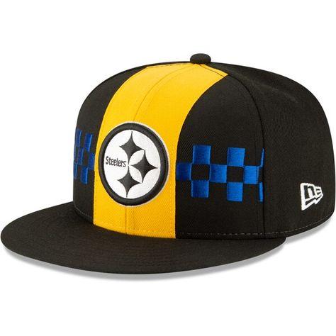 NEW Era Cap-NFL On Field Pittsburgh Steelers Nero
