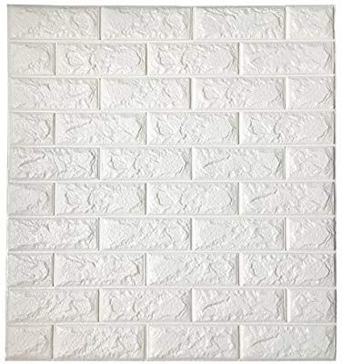 Amazon Com Brewster Brick Grey And White Brick Peel And Stick Wallpaper Home Improvement Brick Effect Wallpaper Removable Brick Wallpaper White Brick