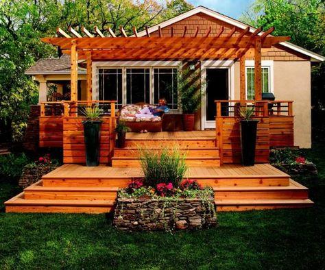 Pergola terrasse 48 idées pour une déco extérieure moderne - terrassen bau tipps tricks