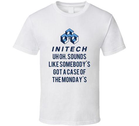 Office Space Initech Logo Shirt