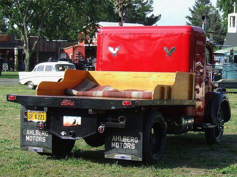 1947 Ford C.O.E. Flatbed Truck