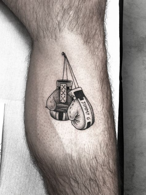 boxing gloves tattoo