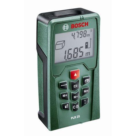 Télémètre Laser Bosch Plr 25 25m Castorama Amenagement