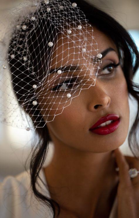 Veil Length, Vintage Bridal, Vintage Italian Wedding, Italian Weddings, Wedding Dresses, Beach Wedding Veils, Birdcage Wedding, Vail Wedding, Birdcage Veils