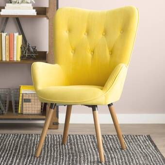 Ethelyn Lounge Chair Furniture Comfy Chairs Yellow Chair