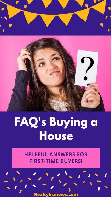 FAQ's Buying a Home
