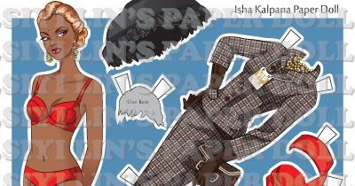 At last I want to present Final Cut Isha paper doll, which was made in 2009. I planed to publish and sell it but my first baby was born in t...