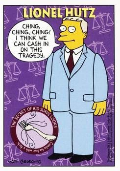 Attorney Lionel Hutz Trading Card The Simpsons 1994 Skybox S31