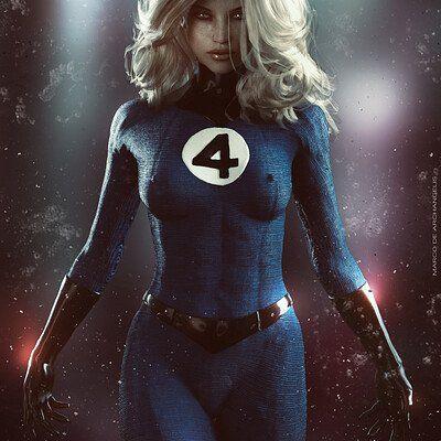 The Invisible Woman. Marvel Dc, Storm Marvel, Marvel Comics Superheroes, Marvel Comic Universe, Marvel Girls, Marvel Characters, Marvel Heroes, Marvel Females, Fantastic Four