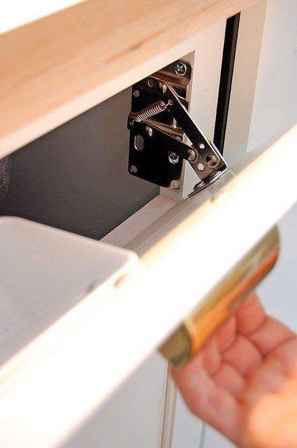 Lee Valley Tip Out Tray Hinge Installation With Images Kitchen Sink Storage Best Kitchen Sinks Faux Kitchen Drawer