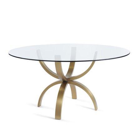Shop Dining Tables Jill Shevlin Design Glass Table Decor Round Glass Table Dining Table