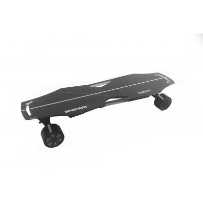 Spadger Explore Electric Skateboard 300w Dual Motor 23mph Max Speed With Remote Sale Price Reviews With Images Electric Skateboard Skateboard Electricity
