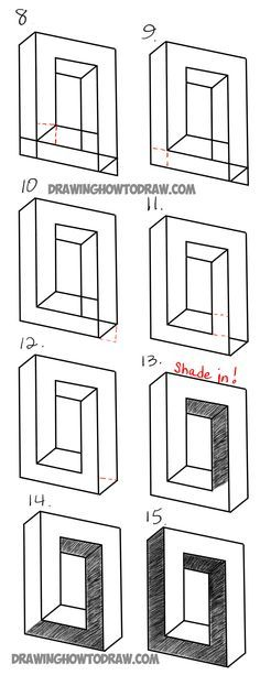 18 Best Impossible Shapes Ideas Impossible Shapes Illusion Drawings Drawing Tutorial