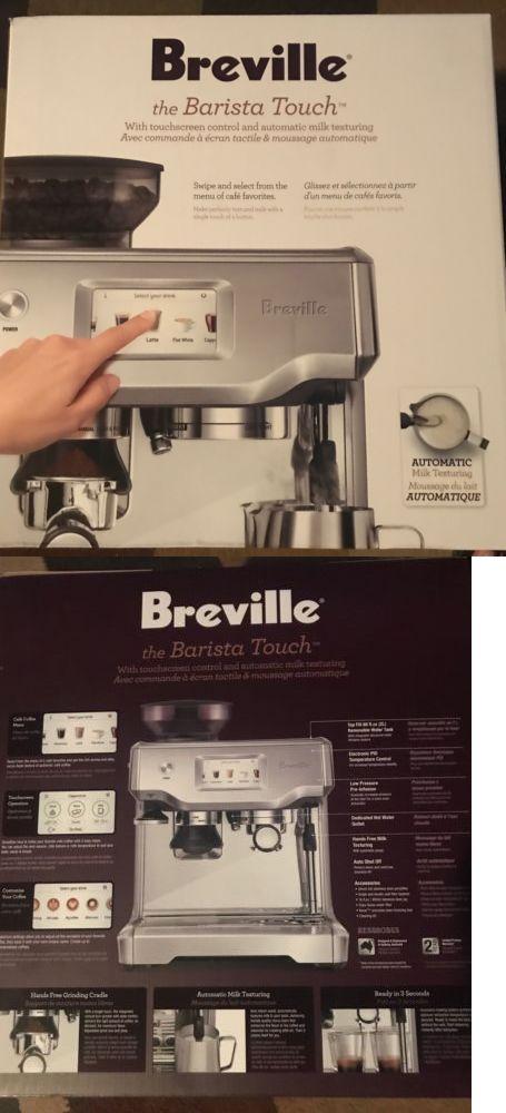 Brand New Breville The Barista Touch Bes880bss1bus1 Cappuccino Machine Espresso Breville