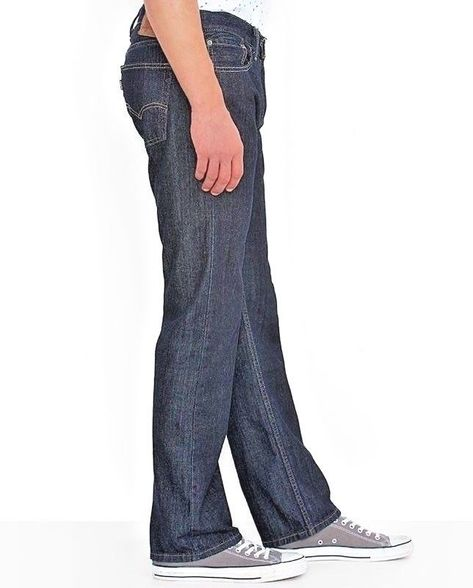 100% top quality sneakers for cheap high fashion LEVI'S SLIM STRAIGHT 514 JEANS, MEN'S 36 X 30, 100% COTTON, MEDIUM ...