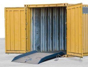 Bluff Mfg Shipping Container Ramps Cont Rmp 6096 W X L 60 X 96 14 Grade Diff In 12 19 Grade Diff In 15 Capacity Lbs 15 000 Lbs Weight Lbs Shipping Container Ramp Warehouse Design