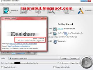 Idealshare Videogo 6 1 1 Free Full Key Serial Lizenzschlussel License Key Best Video Converter To Fast Co Discount Codes Coupon Google Nexus Video Editing