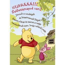 micimackó idézetek szülinapra Születésnapi Képeslapok: Micimackó   Hurrá! Születésnapod van