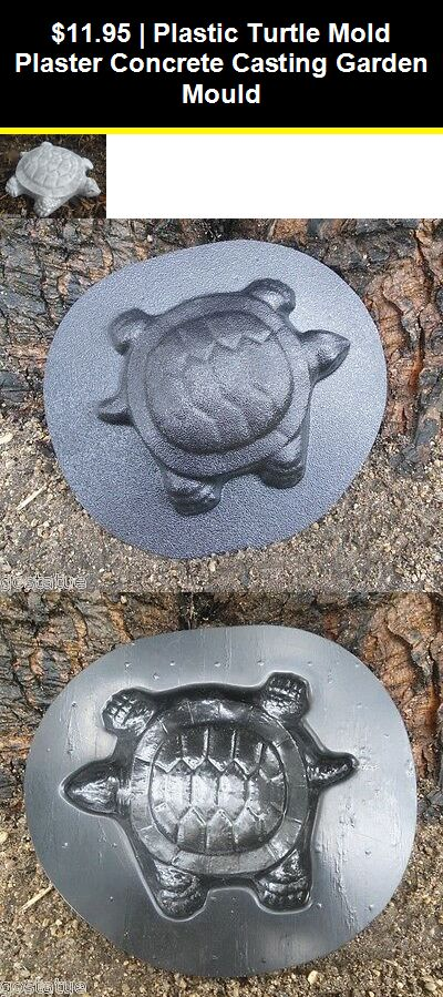 Rabbit plaque plastic garden casting  mold mould