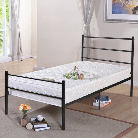 Home Twin Size Bed Frame Bed Frame Furniture