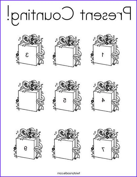 Counting Coloring Pages Fruit Jumble Counting Coloring Page