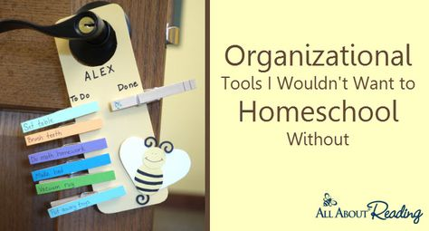 Organizational Tools I Couldn't Homeschool Without (FREE downloads!)