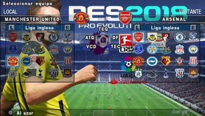 PES 2018 Lite Android v3 Offline PSP ISO | Game mod