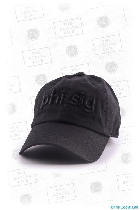 Phi Sigma Sigma Puff Baseball Cap