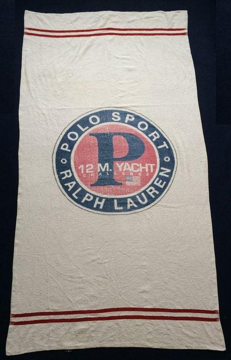 Vintage Polo Ralph Lauren Polo Sport 12 M Yacht Challenge Bear