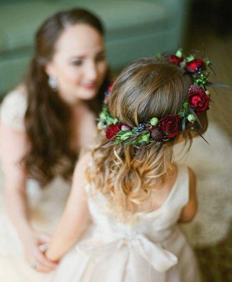 Forest Green Hair Clip Chiffon Flower Girl Bridesmaid Wedding Prom Races