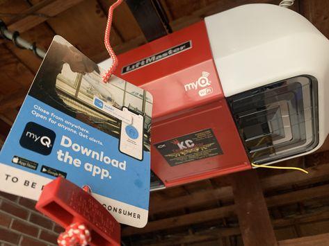 Control Your Garage Door With Your Smartphone Garage Door Opener Installation Garage Door Repair Service Garage Doors