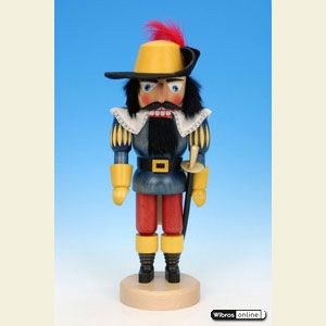 Nutcrackers Misc. Nutcrackers Nutcracker Musketeer - 35cm / 14 inches