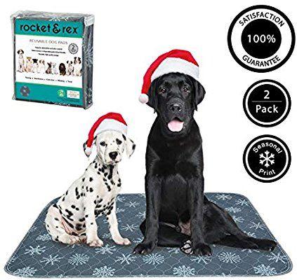 Amazon Com Rocket Rex Washable Dog Pee Pads Dog Training Pads